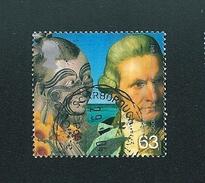 N° 2073 Portrait De Cook Et D'un Maori   Timbre Royaume-Uni (1999) Oblitéré GB Grande Bretagne - Used Stamps