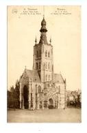 Thienen - Tirlemont - Eglise Notre-Dame Et Entrée De La Rue Neuve / FLION 11 - Tienen