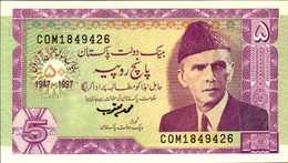 PAKISTAN 5 ROUPIES De 1997  Pick 44  UNC/NEUF - Pakistan
