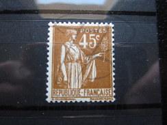 VEND BEAU TIMBRE DE FRANCE N° 282 , XX !!!! - 1932-39 Peace