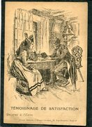 Union Amicale D'Alsace Lorraine - TEMOIGNAGE DE SATISFACTION Décerné à L'Elève........ - Weltkrieg 1914-18