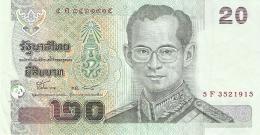THAILANDE   20 Baht   ND (2003)   P. 109 - Thaïlande