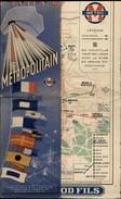 75 - PARIS - PLAN COMBINE DU METRO ET EXPO DE 1937 - Europe