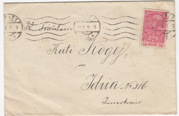 Austria Letter Cover Travelled 1915 Graz Pmk B170328 - Covers & Documents