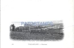 69386 CHILE TALCAHUANO PANORAMA SHIP VIAJE FRAGATA PHAETON FRANCE AÑO 1902 CARD NO POSTAL POSTCARD - Chile