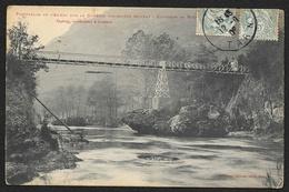 Env. De MILLAU Passerelle De L'Aumet Sur La Dourbie (Labouche) Aveyron (12) - Millau
