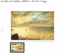 La Carte Et Le Tableau - Delacroix - La Mer à Dieppe - Art