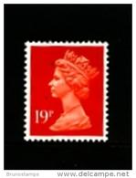 GREAT BRITAIN - 1988  MACHIN  19p.  ACP  LITHO  MINT NH  SG X1013 - Machins