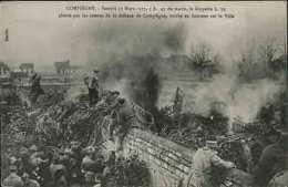 COMPIÈGNE - Samedi 17 Mars 1917, 5h.45 Du Matin Le Zeppellin L.39 Abattu - Compiegne