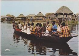 AFRIQUE Ouest,AFRICA,AFRIKA,Bénin,PRES TOGO,FETE,PIROGUE,Ganvié - Benin