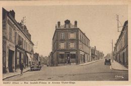 MERU - Rue Anatole France Et Avenue Victor Hugo - Meru