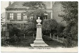 62 : LILLERS - LE SQUARE DE LA MAIRIE - Lillers