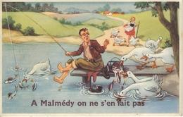 A MALMEDY On Ne S'en Fait Pas - Cachet De La Poste 1952 - Malmedy