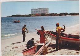 AFRIQUE DE L´OUEST,Sénégal,prés Guinée,BATEAU DE PECHE,N'GOR,1966 - Sénégal