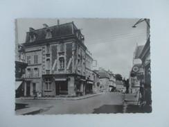 CPA PHOTO 14 THURY HARCOURT RUE DE CAEN COMMERCE - Thury Harcourt
