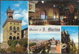 San Marino 1968 / Castle - Châteaux