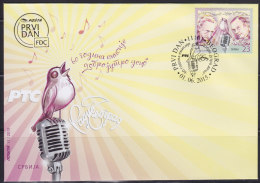 """Serbia, 2015, 60 Years Of Show """"Good Morning, Children"""", FDC - Servië"""