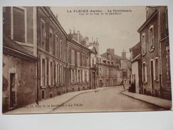 LA FLECHE- La Providence - Vue De Le Rue De Le Beufferie - La Fleche