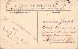MONTOLIEU (11) Fabrique De Draps - Carte Postée Adressée Au Président De La Jeunesse Catholique De MAZAMET (81) TTrare - France