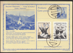Austria Zell Am See 1965 / Postal Stationery / Gymnastics