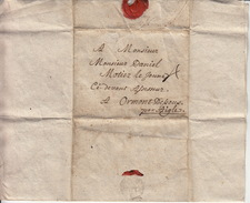 Le 9.8bre 1787 De Savigny à Ormont Dessous Par Aigle : Le Pasteur Achète Une Jeune Vache ... Taxe 4 Bats (?) - Schweiz