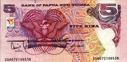 PAPOUASIE NOUVELLE GUINEE 5 KINA De 2007?  Pick 13c  UNC/NEUF - Papouasie-Nouvelle-Guinée
