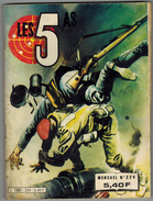 LES 5 AS N° 224 MENSUEL 4 ème Trimestre 1983 Edition IMPERIA - 4 As, Les