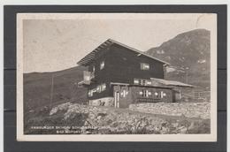 STM182 POSTKARTE JAHR 1954 BAD HOFGASTEIN HAMBURGER SKIHEIM Schossalm GEBRAUCHT - Bad Hofgastein