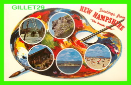 GREETINGS FROM NEW HAMPSHIRE, THE SCENIC STATE - DEXTER PRESS INC - - Souvenir De...
