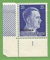 MiNr.13 ER Xx Deutschland Besetzte Gebiete II.WK Ostland - Besetzungen 1938-45