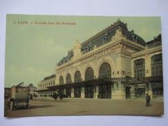 RHONE  69  LYON  -  GARE DES BROTTEAUX            ANIME     TTB - Lyon