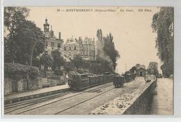 95 Val D'oise - Montmorency La Gare Trains - Montmorency