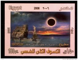 EGYPT / 2006 / Solar Eclipse / MNH / VF . - Egypt