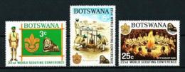Botswana  Nº Yvert  203/5  En Nuevo - Botswana (1966-...)