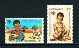 Botswana  Nº Yvert  389/90  En Nuevo - Botswana (1966-...)