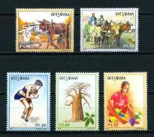 Botswana  Nº Yvert  1002/6  En Nuevo - Botswana (1966-...)