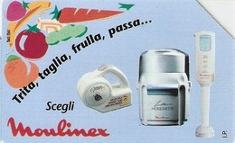 *ITALIA: MOULINEX* - Spezzatura SIP Usata Bilingue (AA44) - Italy