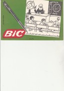 "BUVARD "" BIC ""  DESSIN DE JEAN EIFFEL - Papierwaren"