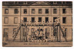 Autun. Ecole De Cavalerie. En Gymnastique. (1327) - Casernes