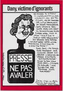 CPM LARDIE JIHEL Tirage Limité En 100 Exemplaires Signés Mai 68 Daniel Cohn Bendit - Evènements