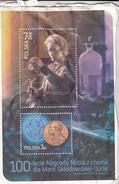 Poland S. Sheet (block) Chemist Nobel Prized   (Z-2006) - 1944-.... Republic