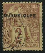 Guadeloupe (1890) N 15 (o) - Oblitérés