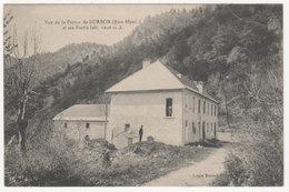 Cpa Vue De La Ferme De Durbon ( Hautes-Alpes ) Et Ses Forêts - France