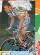 5928 CP Cyclisme Wilfried Peeters  Dédicacée - Cyclisme