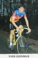 5943 CP  Cyclisme  Yves Godimus  Dédicacée - Cyclisme