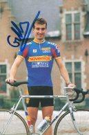5959 CP Cyclisme  Gilles Talmant Dédicaée - Cyclisme