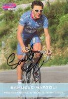 6005  CP Cyclisme  Samuele Marzoli Dédicacée - Cyclisme