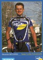 6006  CP Cyclisme  Alexandre Botcharov Dédicacée - Cyclisme