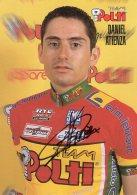 6018 CP Cyclisme  Daniel Atienza  Dédicacée - Cyclisme
