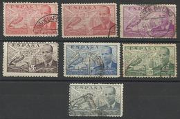 Espagne PA N° 195 à 201 De 1939 POSTE AERIENNE - Luftpost